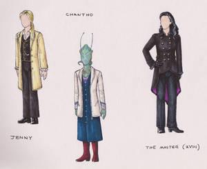 Costume Designs :: Alternate Universe