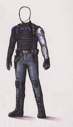 Costume Designs II :: Bucky Barnes