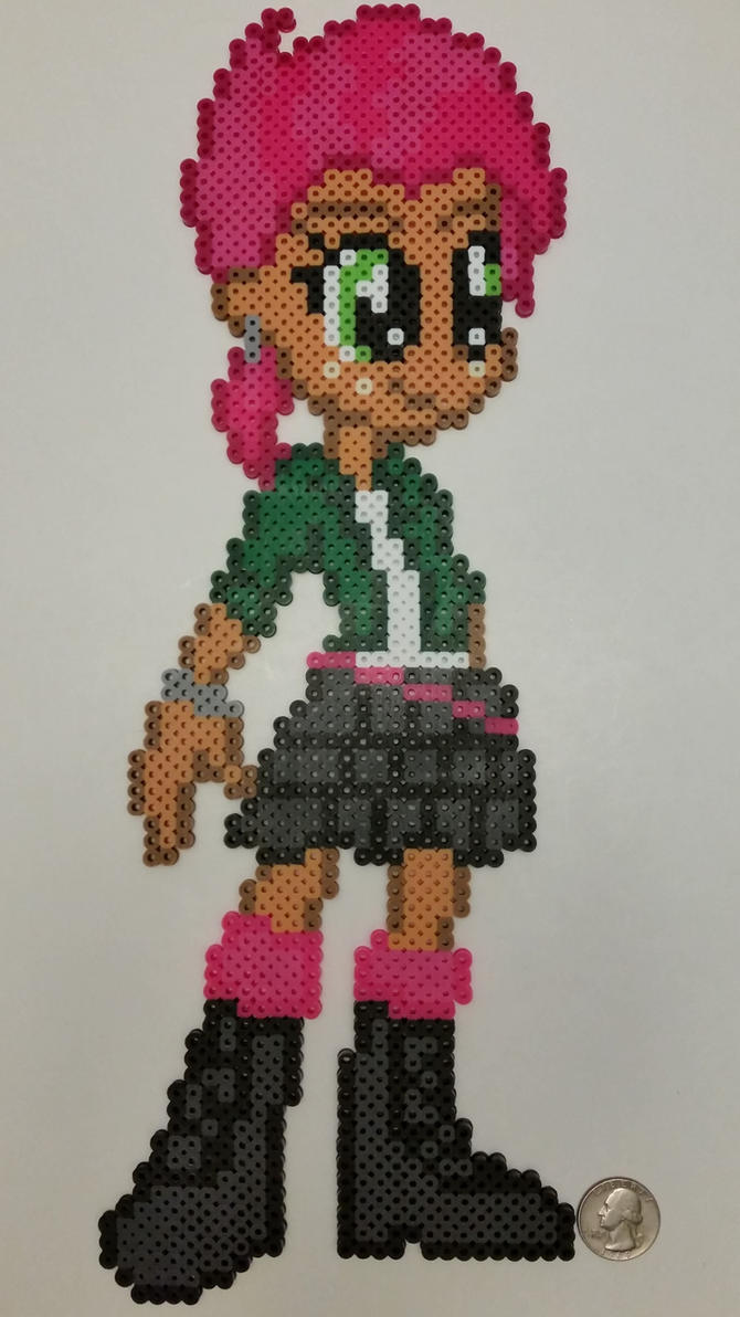 Equestria Girls Babs Seed Perler by jrfromdallas