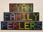 Ryan Family Perlers Logo by jrfromdallas