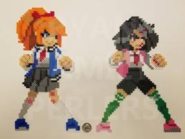 River City Girls Perlers