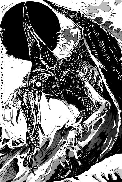 Lord Cthulhu by METALFEAR666