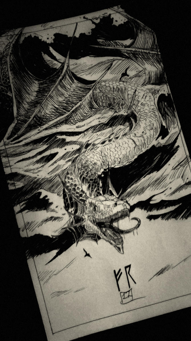 Sea Monster by METALFEAR666