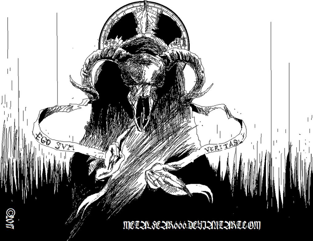 The Black Goat by METALFEAR666
