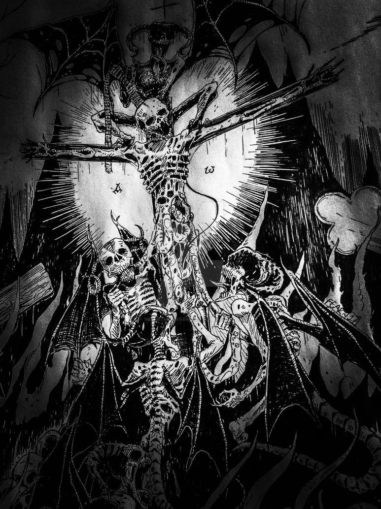 FEAST (detail) by METALFEAR666