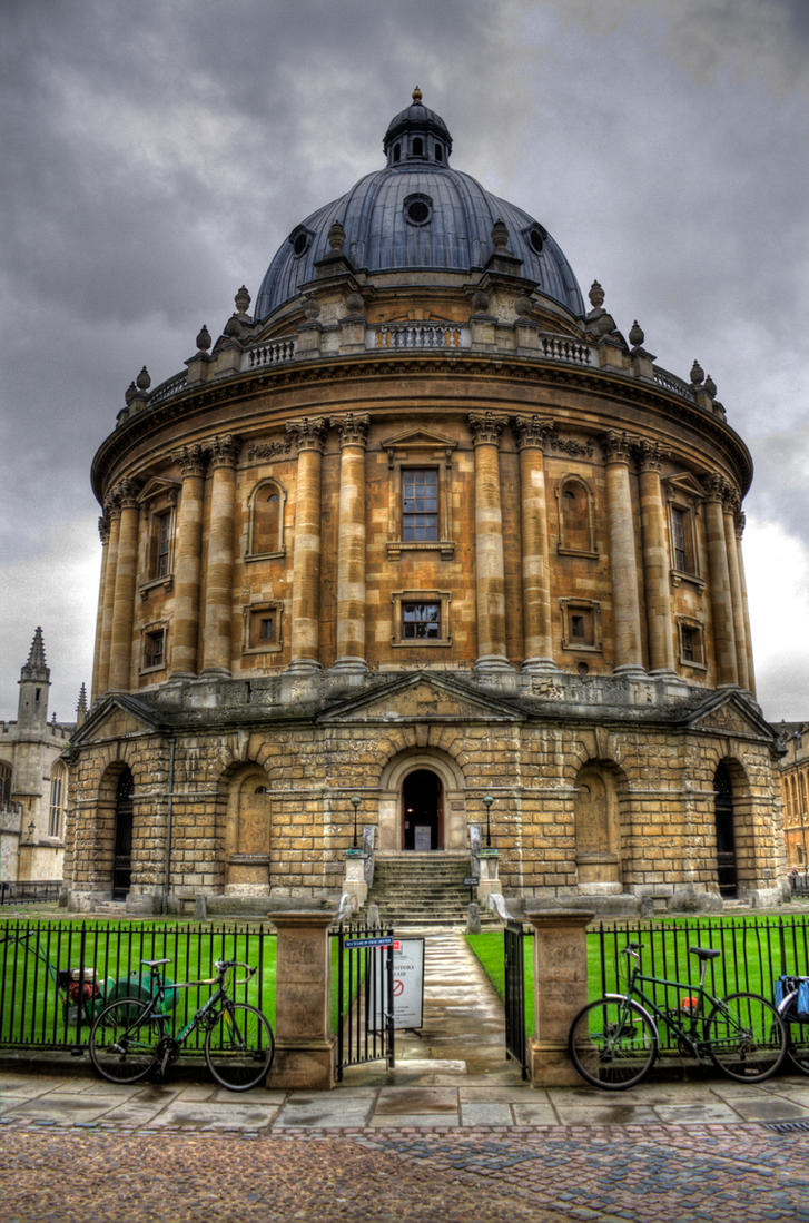 The Bodleian by A-Glass-Brightly