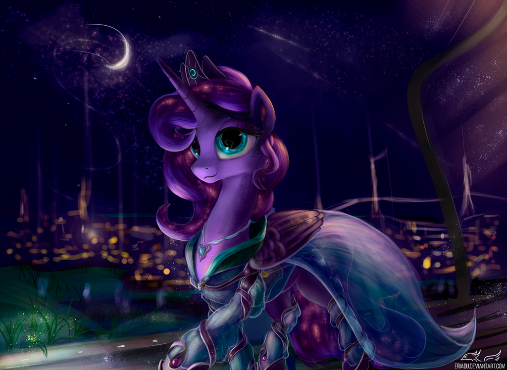 Pony art of the non diabetic variety.  - Page 26 Night_luna_by_eriadu-d9y76aw