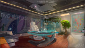 Concept - office of Sky Edge by eriadu