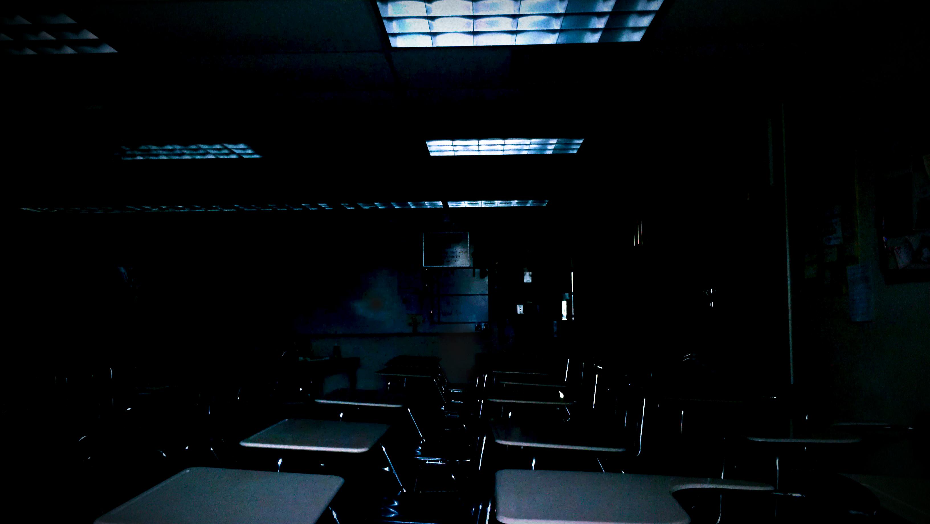 Empty Classroom By Bbrownie97