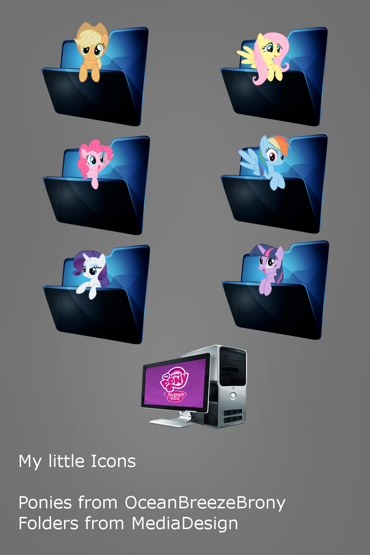 My Little Pony Icons By Djchapica On Deviantart
