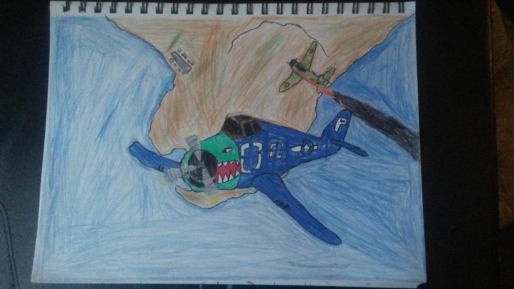 F6F Hellcat by Historian2088