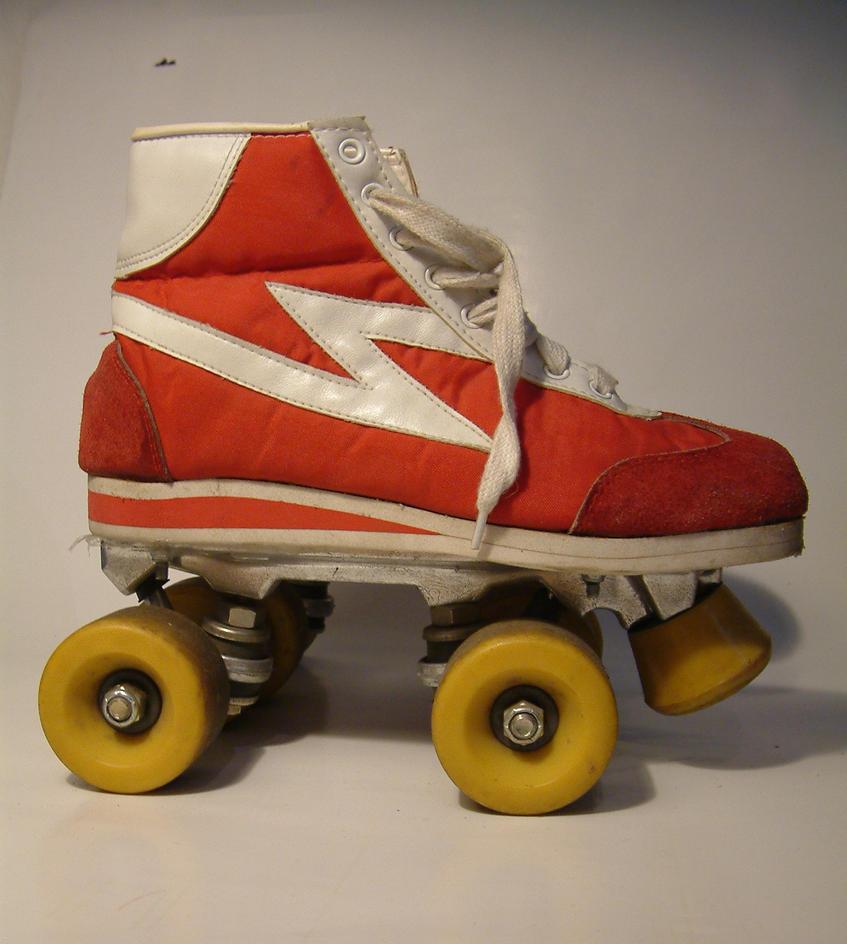 Roller skates stock-photo by damnlife-stock