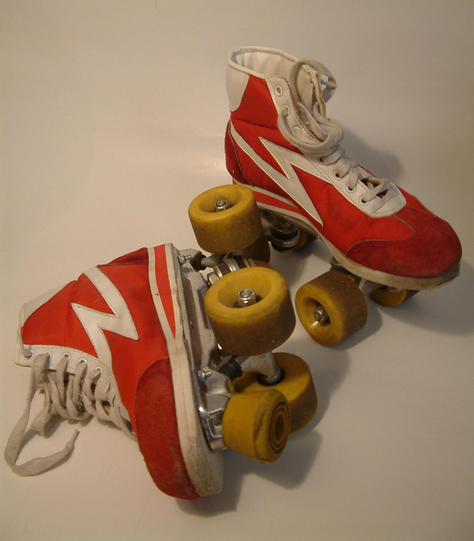 Roller skates stock-photo 3 by damnlife-stock