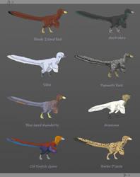 Garden variety raptors
