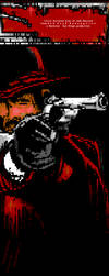 Red Dead Redemption ansi art by mos-effed