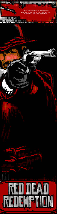 Red Dead Redemption ansi art