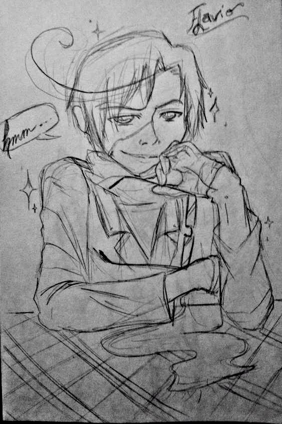 2P! Romano- Flavio sketch by C-cTwo