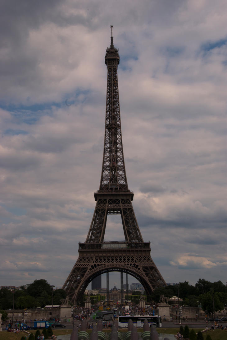 Eiffel Tower 1 by presti