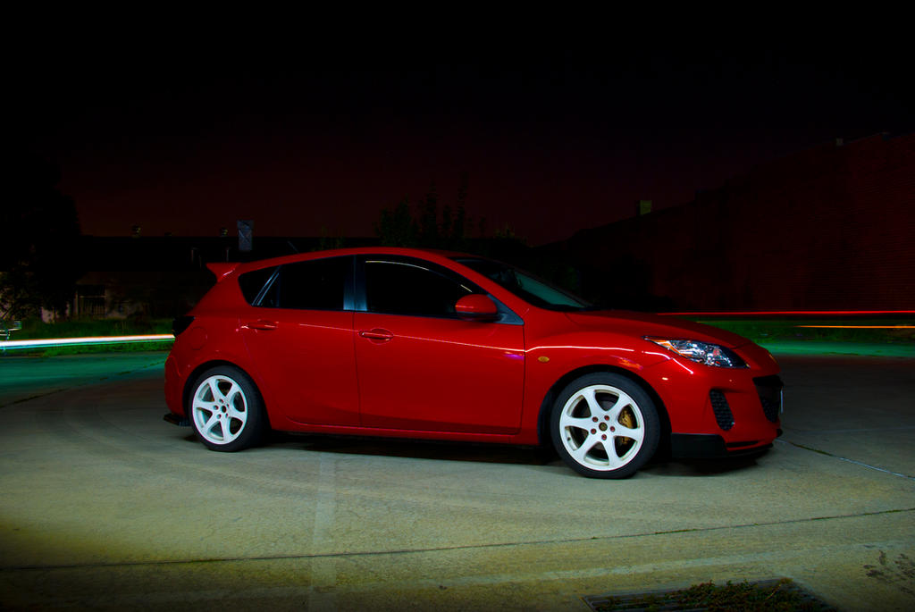 Mazda 3 Photoshoot by presti