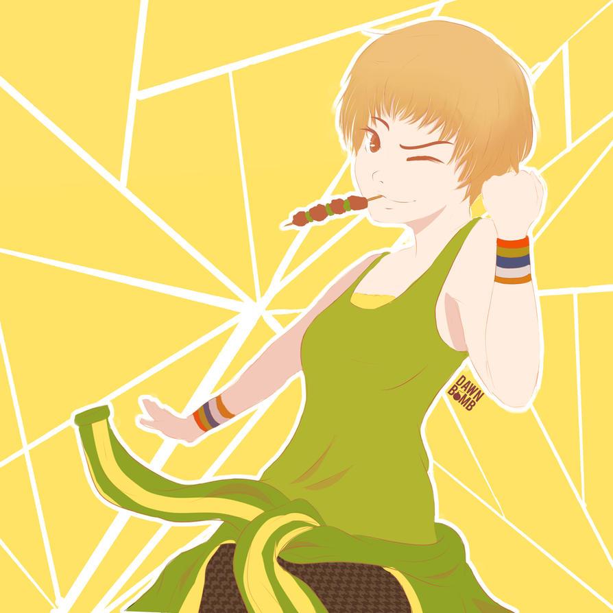 Chie Satonaka - Persona 4 by dawnbomb