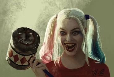 Harley Quinn by wickedevilbunny
