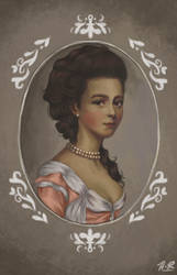 Princess Marianna's portrait