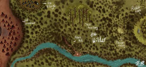 Map Of Wilder