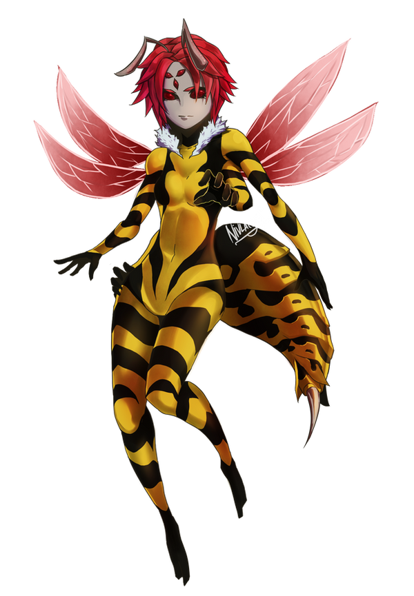 hornet girl by nivlacart on deviantart