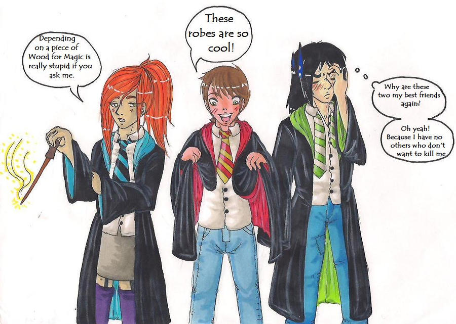 Harry Potter Crossover By Akane3196 Deviantart – Fondos de Pantalla
