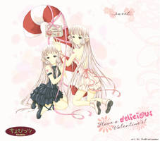Valentine Chobits by TheBlueLummox