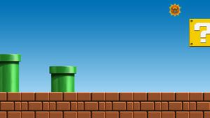 Mario Login Screen Background