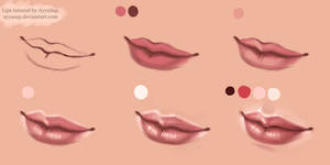 Lips Tutorial Photoshop by AyyaSAP