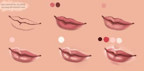 Lips Tutorial Photoshop