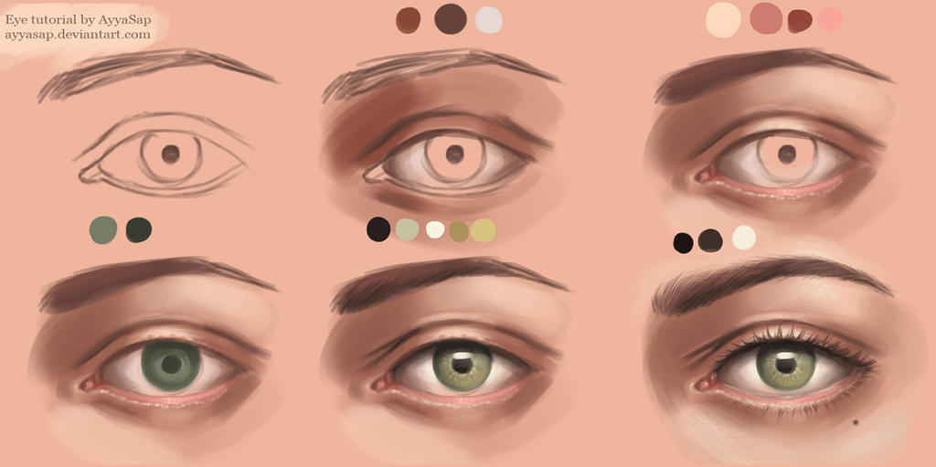 Eye Tutorial Photoshop by AyyaSap