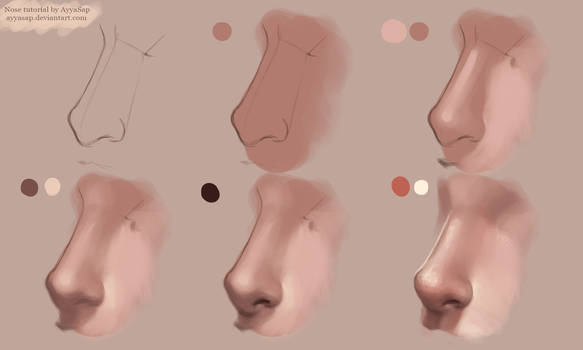 Nose Tutorial Photoshop