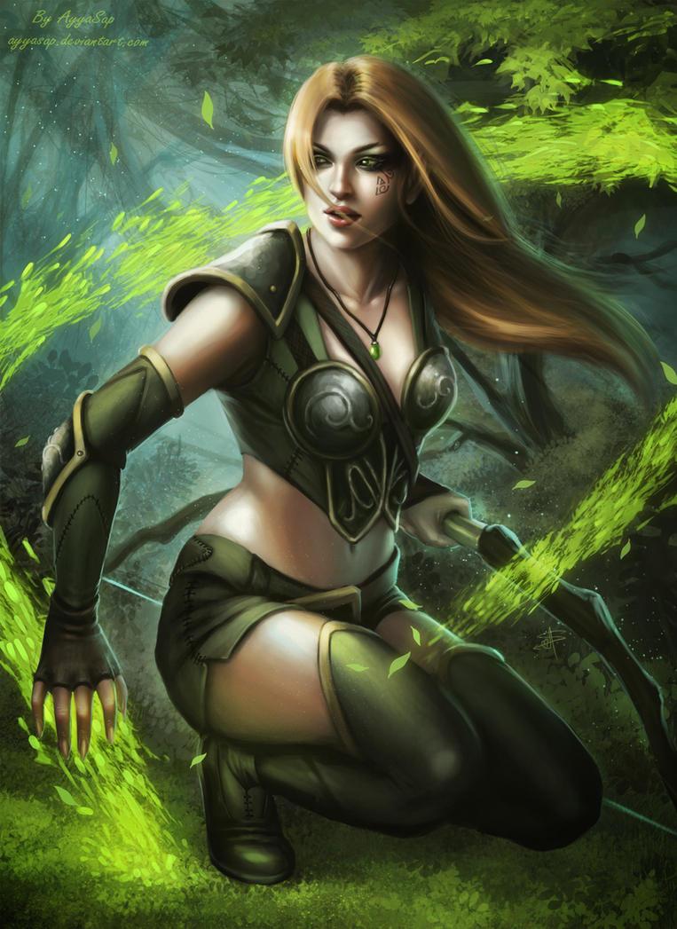 Elf archer by AyyaSap
