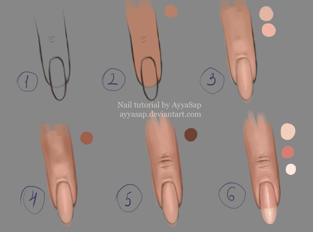 Nail Tutorial by AyyaSap