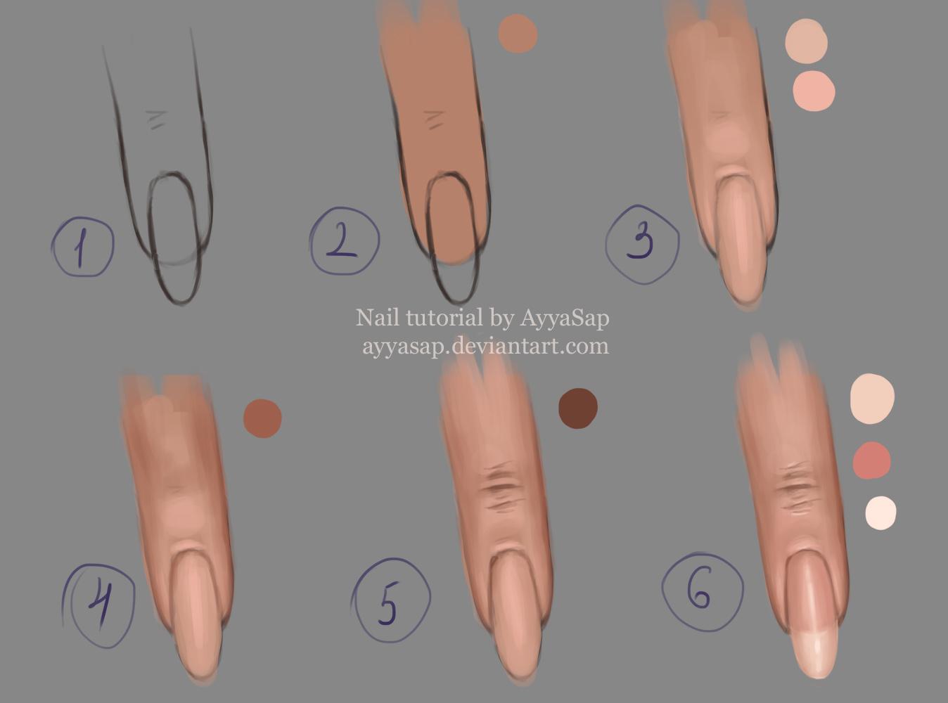 Nail Tutorial by AyyaSap