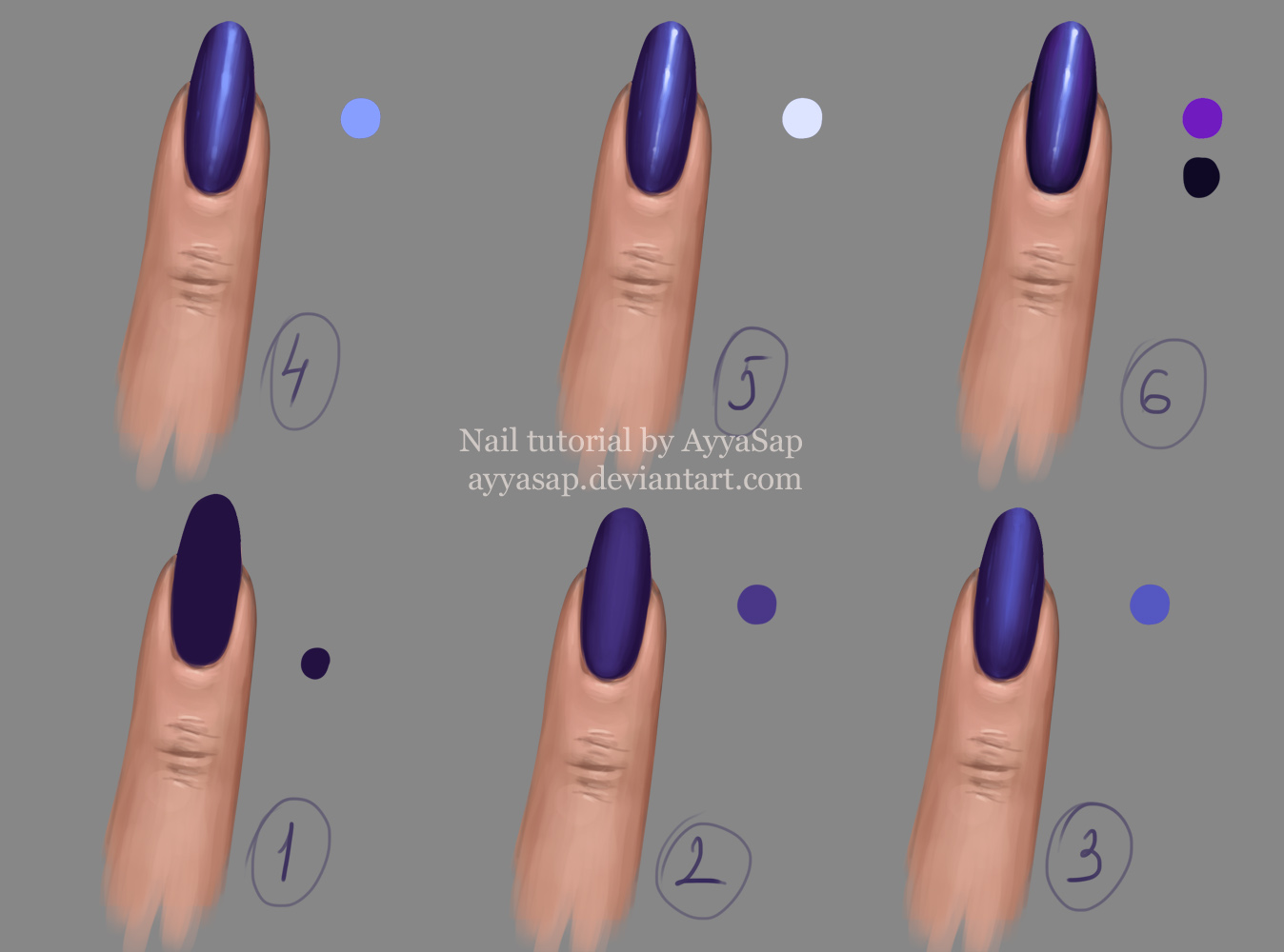 Nail Tutorial 2 by AyyaSap