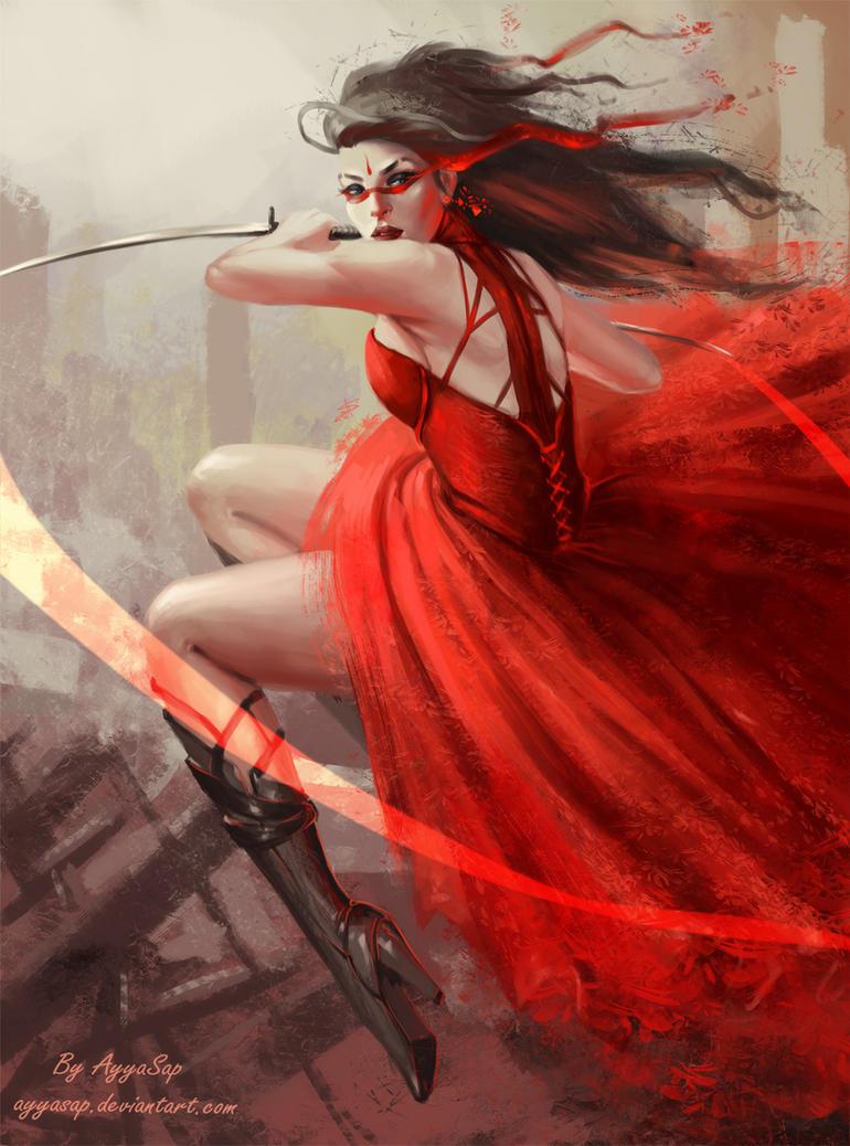 Red Avenger by AyyaSap