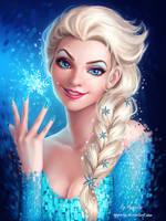 Elsa Frozen by AyyaSAP