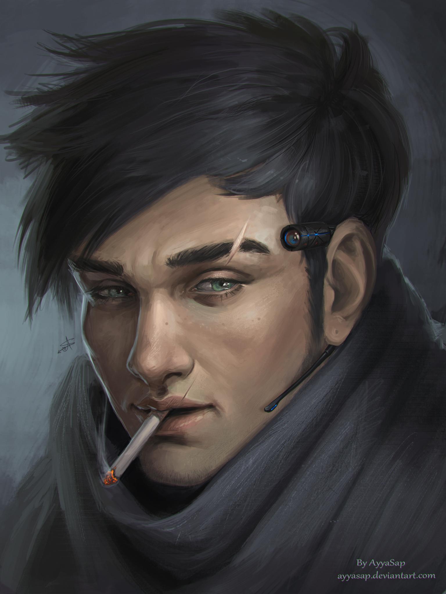 Spy (portrait training)