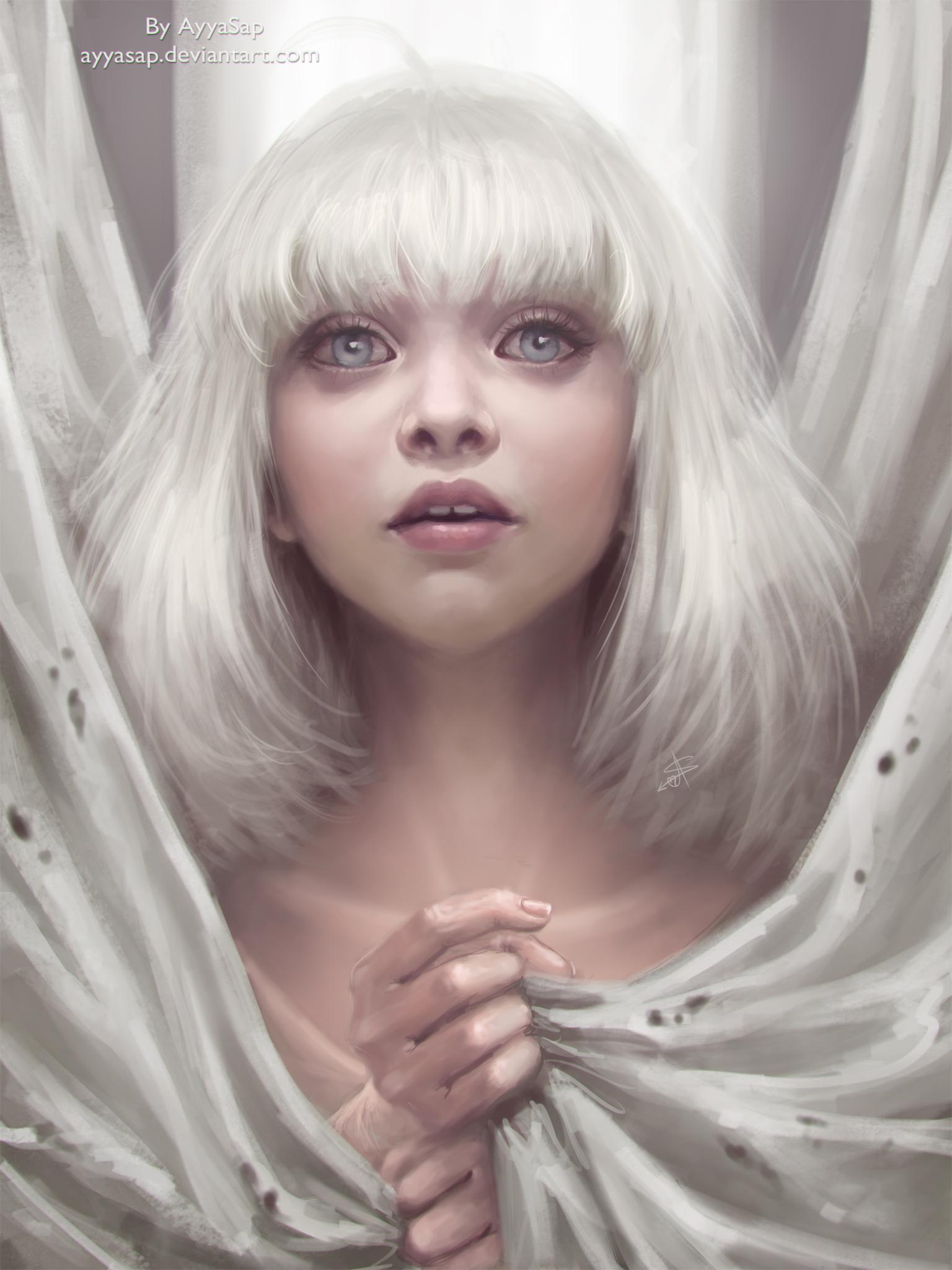 Maddie Ziegler (Sia - Chandelier) by AyyaSap