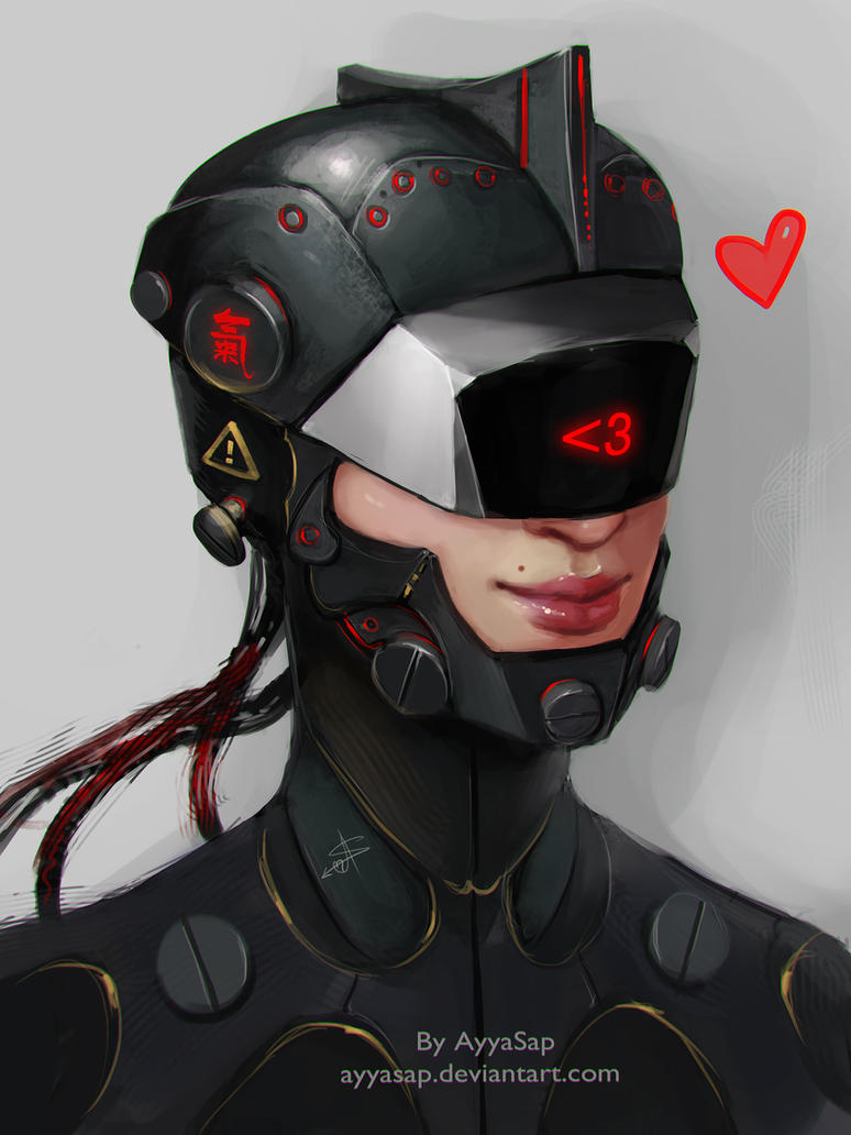 Cyber Girl by AyyaSAP