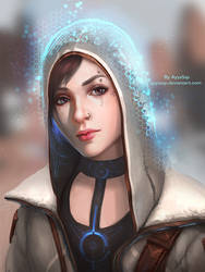 The Invisible hood (overpaint by Sergey Lesiuk) by AyyaSAP