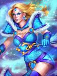 Crystal Maiden (DOTA2)
