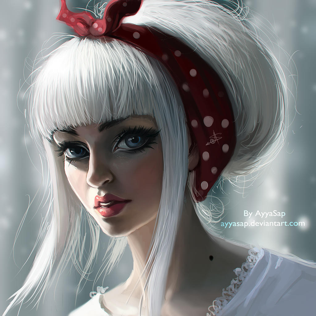 White Hair By Ayyasap On Deviantart