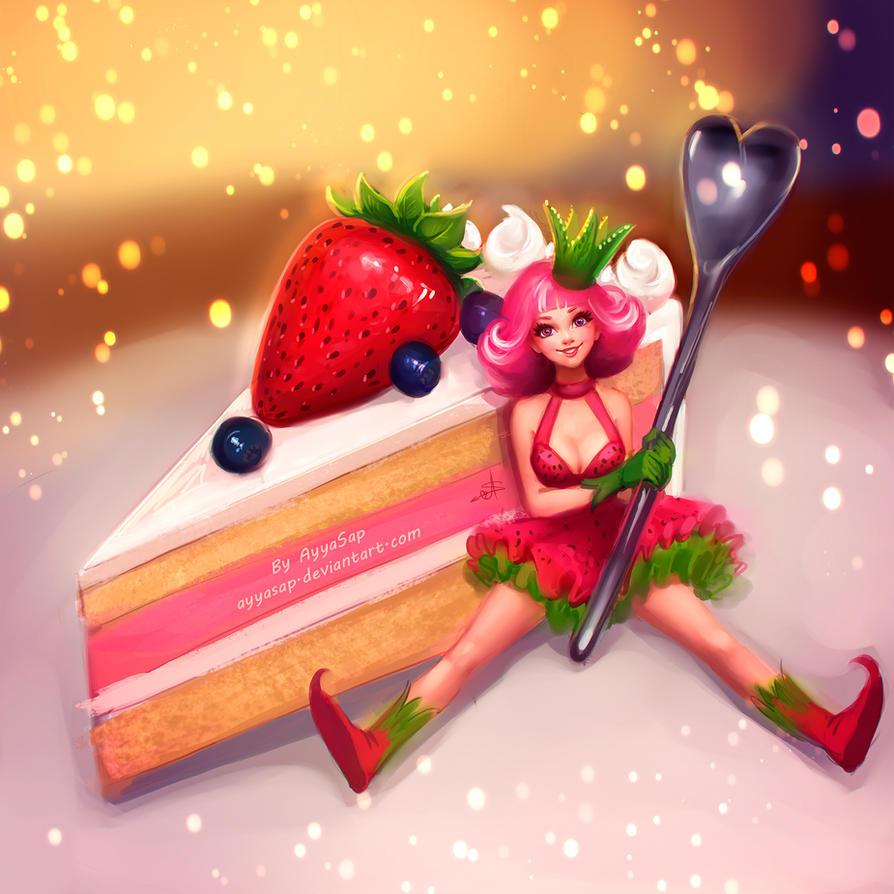 Strawberry Cake Shop