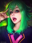 Pokemon Cosplay Girl (photo study)