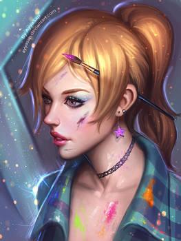 Artist girl